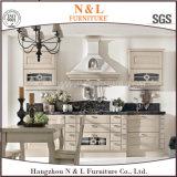 Blum Handwareの贅沢なホーム家具の純木の食器棚