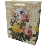 Bolsa de papel impresa 4c del día del `S de la madre del OEM de la insignia del diseño del día de fiesta