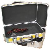 軽量の堅いツールの携帯用ケースの収納箱のアルミニウムブリーフケースの工具箱