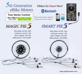 Slimme Pastei 5 de Elektrische Motor van de Fiets 250W-500W met Bluetooth