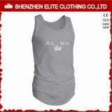Venda por grosso de vestuário Fitness Masculino Ginásio Moda Camisolas interiores (ELTVI-5)