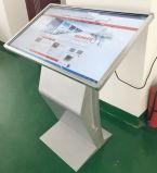 Écran tactile de panneau lcd d'étage de 50 pouces/kiosque debout d'écran tactile de lecteur vidéo