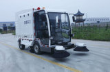 Balayeuse de route électrique automatique de grande haute performance de poubelle