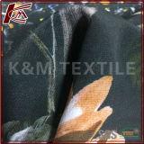 Cdc de fleursen soie pure imprimés textiles 140cm de tissu crêpe de soie