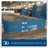 H13 het Vlakke Hete Staal van de Vorm van het Werk DIN1.2344 met ESR