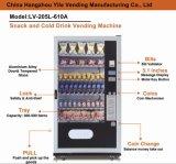Máquina de venda automática de bebidas frias e lanches LV-205L-610A