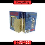 Da competição plástica do casino da importação de Coreia dos cartões de jogo do póquer de 100% cartões dedicados Ym-PC06 Texas Holdem