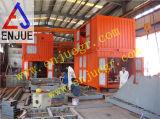 Insaccamento Port di uso e bascula con il contenitore