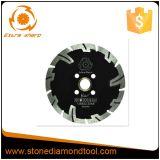 """la piccola circonvallazione del diamante segmentata 5 """" 125mm il disco di taglio della lama per sega"""