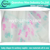 Pellicola irrespirabile stampata del PE di BOPP per il pannolino adulto Backsheet del pannolino del bambino