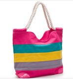 方法混合されたカラーストラップのキャンバス浜袋