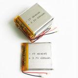 batterie de polymère de lithium de 680mAh 404045pl pour la tablette visuelle d'appareil-photo de carter