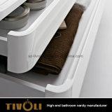 Governi di stanza da bagno diritti liberi con la parte superiore di pietra artificiale Tivo-0016vh del dispersore
