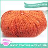 Tipos de velo de fantasia tricotado grossas Nó Áspera Fios Nep
