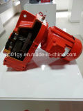 0.12kw-200kw Série F Parallel Hollow Shaft Helical Speed Reducing Gear Motor para transportador de correia