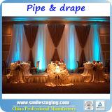 La pipe réglable et drapent la pipe de système et drapent des nécessaires Chuppah Pôles