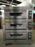 2 dek 4 Oven van het Dek van Dienbladen de Elektrische