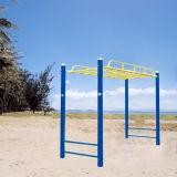 Solo junta abdominales gimnasio al aire libre