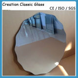 Vetro d'argento a doppio foglio dello specchio per lo specchio della parete/specchio della decorazione