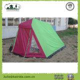 居間が付いている5つの人の二重層のキャンプテント