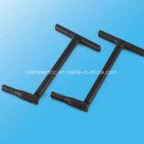Fascetta stringituba britannica galvanizzata di stile del ferro per il connettore