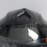 두 배 챙 기관자전차 헬멧 높은 쪽으로 고품질 ECE 점 손가락으로 튀김