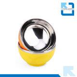 Double bol en acier inoxydable en acier inoxydable pour cuvette pour bébé