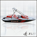 Flit 15FT Ce aprobado motor fuera de borda de esquí barco 460b