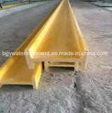 FRP UのプロフィールのI型梁のガラス繊維の多機能のPultruded FRPのプロフィール