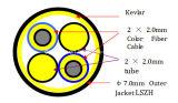 Ftta cavo duplex 7.0mm/5.0mm dell'interno/esterno di Cpri