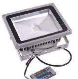Iluminação de inundação ao ar livre clara das luzes do diodo emissor de luz do diodo emissor de luz dos preços de fábrica IP67 da alta qualidade 10W 20W 30W 50W RGB