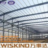 Estrutura de edifício industrial Wareghouse/oficina/planta da construção de aço, edifício de aço