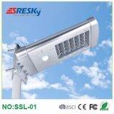 réverbère solaire de 10W DEL pour la maison de jardin allumant la lampe extérieure de voie avec le prix bas