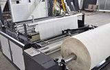 Sac à provisions non-tissé actuel de gilet faisant la machine Zxl-A700