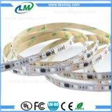 WS1903 SMD5050 farbenreicher RGB 60LEDs pro Streifen des Messinstrument-flexiblen Streifen-LED