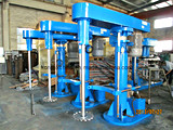높은 가위 분산 기계