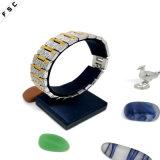 De nieuwe Armband van het Roestvrij staal van de Manier Gouden Brede voor Unisex-