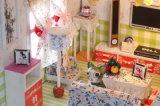 Het in het groot Huis van Doll van de Zaal van de Baby DIY van het Speelgoed Goedkope Leuke Mini