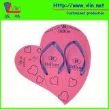 Sandalia de la tarjeta del marco del corazón/fracaso de tirón con Keychains flotable