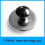 Recubierto de acero inoxidable de alta calidad Alfiler Imán de neodimio para la venta