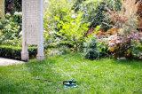 잔디밭 물뿌리개 잔디밭 관개 시설이 자동적인 정원 물에 의하여 3600 평방 피트 교체 적용 360 도 스프링클러를 설치한다
