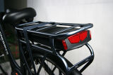 Deux roues Stand up 250W Pédales vélo électrique a aidé le milieu de vélo d'entraînement