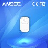 スマートなホーム、USA/EU/UK/Au/inのタイプのための無線スマートな電力ソケット
