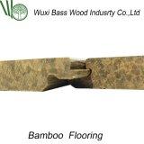 Орех Strandwoven Uniclic твердые полы из бамбука