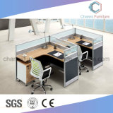 Moderner Büro-Funktions-Tisch mit Partition