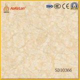 azulejo de suelo Polished por completo esmaltado de mármol de la porcelana del diseño de 600X600m m