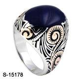 Modelo de Nice jóias de prata 925 Esmalte Anéis homens árabe