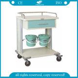 AG Mt029 Ce&ISO 바퀴를 가진 승인되는 병원 청소 트롤리 손수레