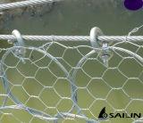 Sailinの六角形の金網の塀
