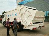 Высокое качество 6 колес 12 выжимк Compactor тележки 12 Cbm отброса тонны тележки перехода